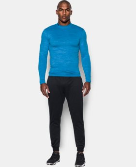Men's UA ColdGear® Armour Twist Compression Mock  2 Colors $52.49