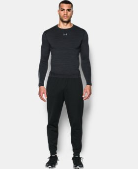 Men's UA ColdGear® Armour Twist Compression Crew LIMITED TIME: FREE SHIPPING 1 Color $52.49