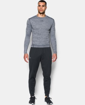 Men's UA ColdGear® Armour Twist Compression Crew  4 Colors $26.99 to $33.74