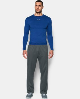 New Arrival  Men's UA ColdGear® Armour Twist Compression Crew LIMITED TIME: FREE SHIPPING 1 Color $69.99