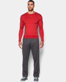 Men's UA ColdGear® Armour Twist Compression Crew LIMITED TIME: FREE U.S. SHIPPING 1 Color $44.99