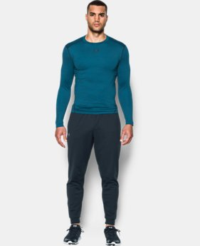 Men's UA ColdGear® Armour Twist Compression Crew  1 Color $52.99