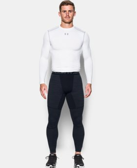 Men's UA ColdGear® Armour Twist Compression Leggings LIMITED TIME: FREE SHIPPING 3 Colors $69.99