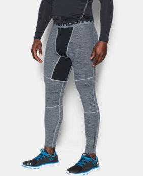 Men's UA ColdGear® Armour Twist Compression Leggings LIMITED TIME: 25% OFF 1 Color $44.99