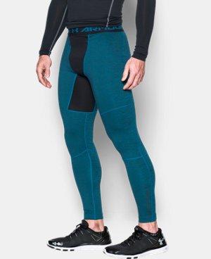 Men's UA ColdGear® Armour Twist Compression Leggings  1 Color $52.99