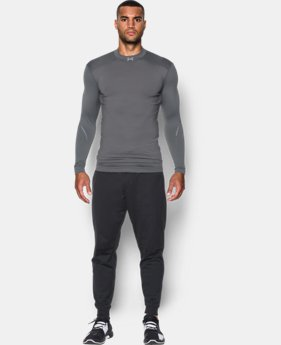 New Arrival  Men's UA ColdGear® Armour Elements Mock  1 Color $74.99