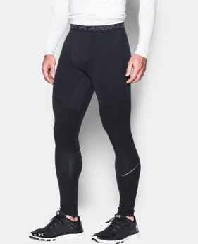 Men's UA ColdGear® Armour Elements Leggings  1 Color $64.99