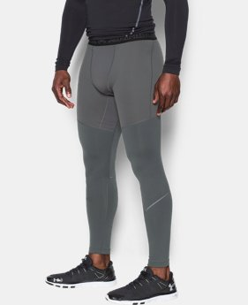 New Arrival  Men's UA ColdGear® Armour Elements Leggings   $74.99