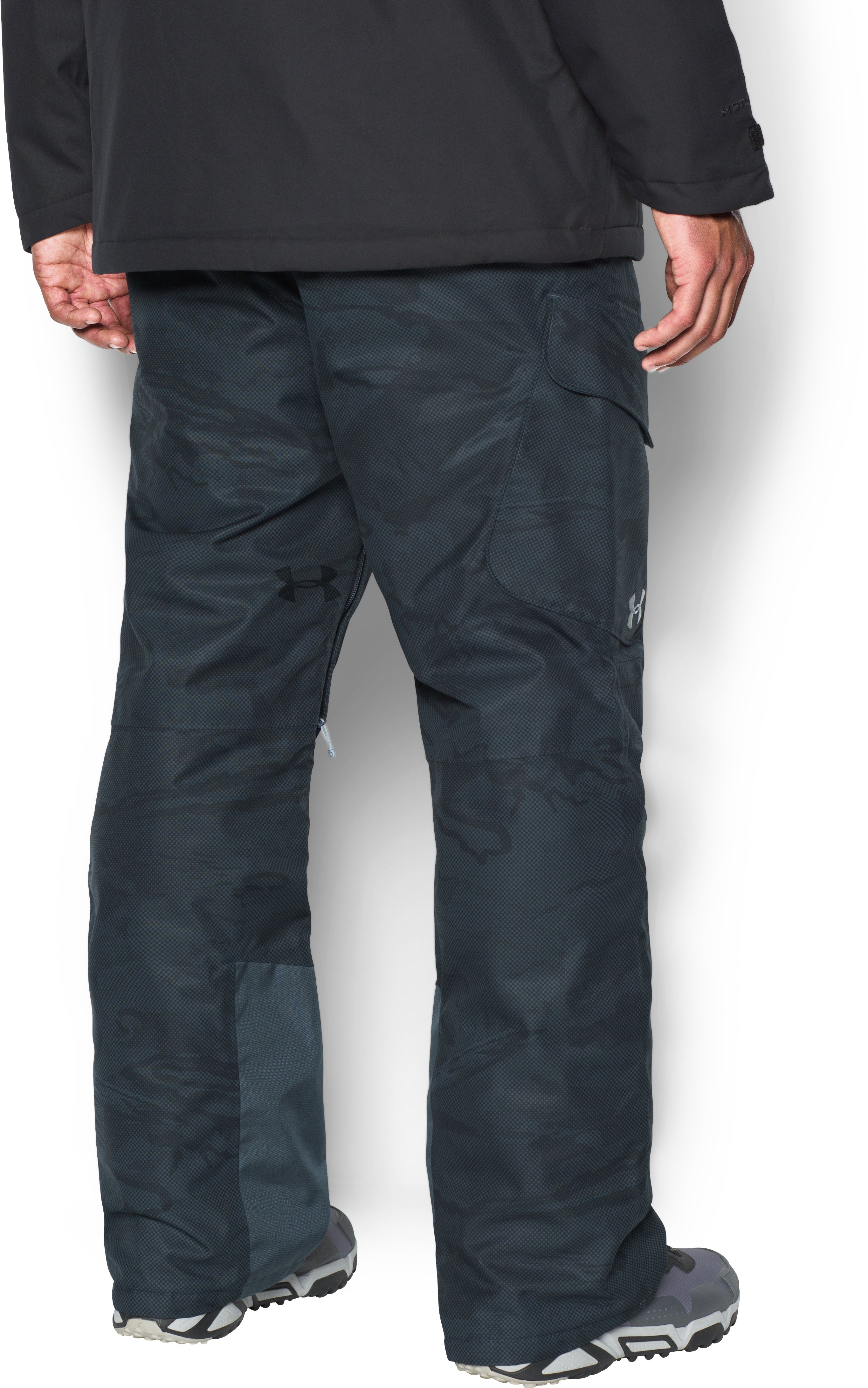 Men's UA Storm Chutes Insulated Pants, STEALTH GRAY, undefined