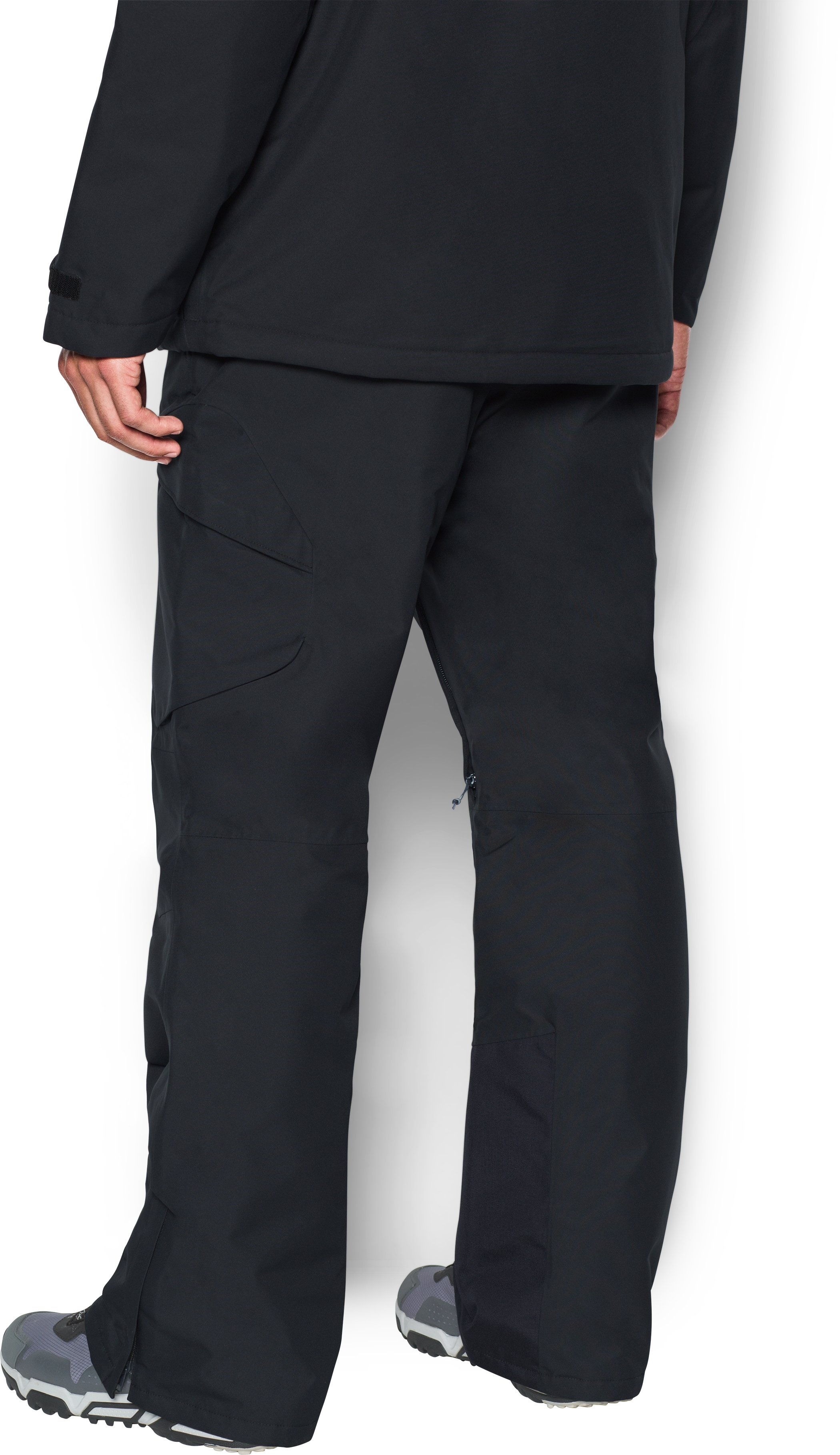 Men's UA Storm Treblecone Insulated Cargo Pants, Black , undefined