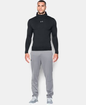New Arrival  Men's UA ColdGear® Armour Compression Hoodie LIMITED TIME: FREE SHIPPING 1 Color $69.99