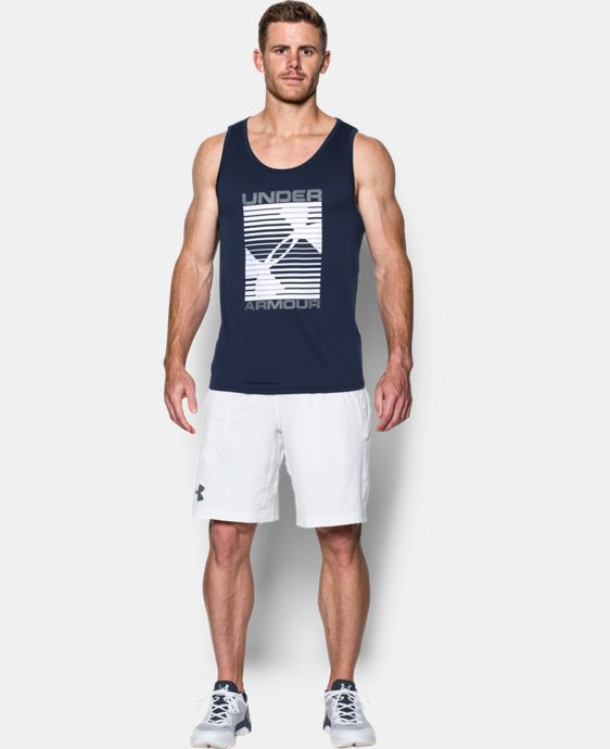 Men's UA Tech™ Turned Up Tank  4 Colors $27.99