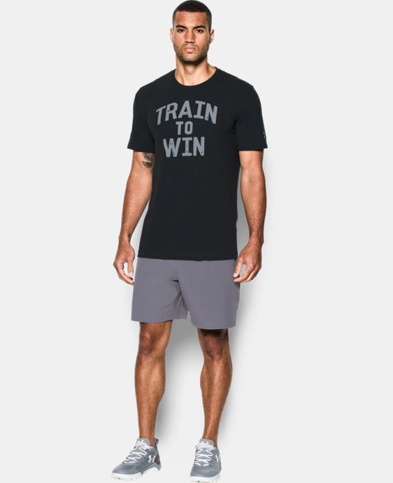 Men's UA Train To Win T-Shirt LIMITED TIME: FREE U.S. SHIPPING 1 Color $18.99