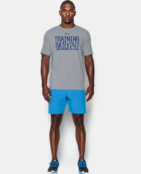 Men's UA Training Daily T-Shirt LIMITED TIME: FREE SHIPPING 2 Colors $24.99