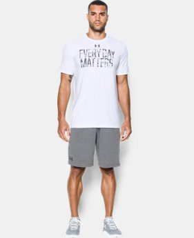Men's UA Every Day Matters T-Shirt LIMITED TIME: FREE SHIPPING 1 Color $24.99