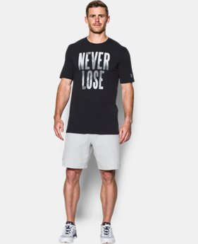 Men's UA Never Lose T-Shirt  LIMITED TIME: FREE SHIPPING 2 Colors $24.99