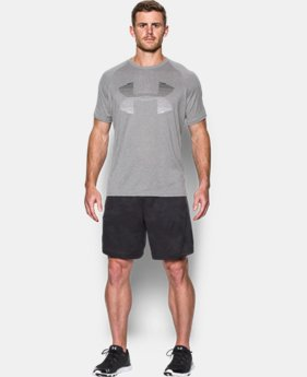 Men's UA Tech™ Horizon Logo Tank  1 Color $27.99