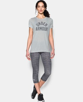 Women's UA Tech™ T-Shirt - Twist Graphic  1 Color $24.99 to $32.99