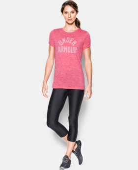 Women's UA Tech™ T-Shirt - Twist Graphic  2 Colors $32.99