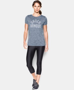 Women's UA Tech™ T-Shirt - Twist Graphic  3 Colors $24.74