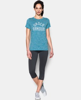 Women's UA Tech™ T-Shirt - Twist Graphic