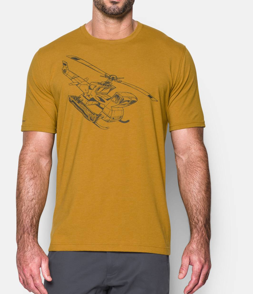 Under Armour Copter Mens Ski & Snowboard Graphic T-Shirt