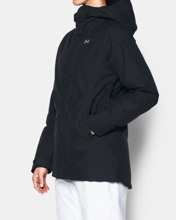 Women's ColdGear® Infrared Powerline Insulated Jacket, Black, pdpMainDesktop image number 1