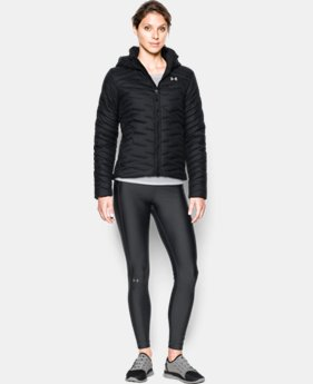 New Arrival  Women's UA ColdGear® Reactor Hooded Jacket  1 Color $259.99