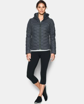 Women's UA ColdGear® Reactor Hooded Jacket