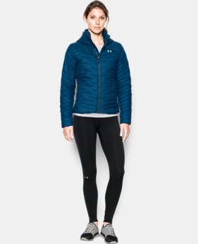 Women's UA ColdGear® Reactor Hooded Jacket  1 Color $224.99
