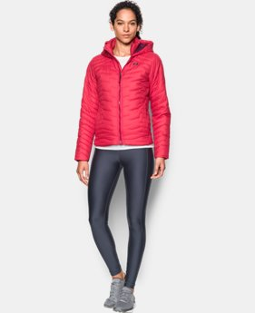 Women's UA ColdGear® Reactor Hooded Jacket  4 Colors $123.99 to $135.99
