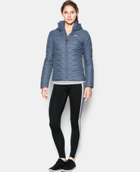 Women's UA ColdGear® Reactor Hooded Jacket LIMITED TIME: FREE U.S. SHIPPING 1 Color $224.99