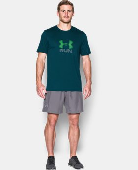 Men's UA Run Icon T-Shirt  LIMITED TIME: FREE SHIPPING  $27.99