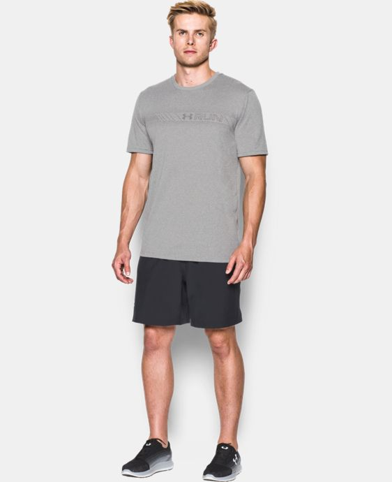 Men's UA Run Chest Graphic T-Shirt  LIMITED TIME: FREE U.S. SHIPPING  $20.99