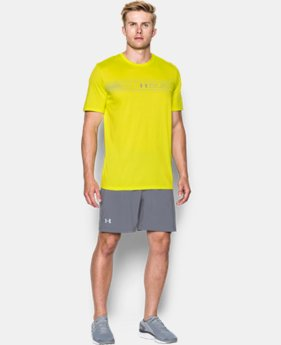 Men's UA Run Chest Graphic T-Shirt   1 Color $27.99
