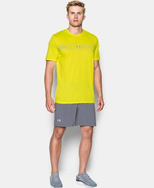 Men's UA Run Chest Graphic T-Shirt   1 Color $16.99