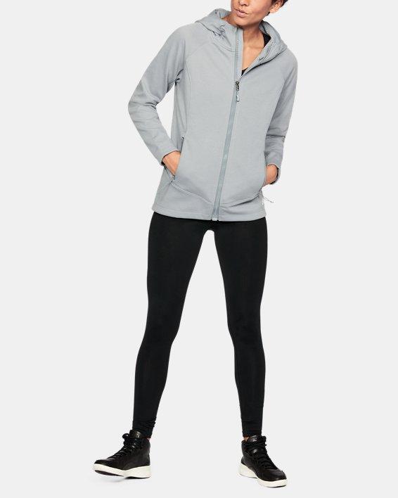 Women's UA ColdGear® Dobson Softershell, Gray, pdpMainDesktop image number 1