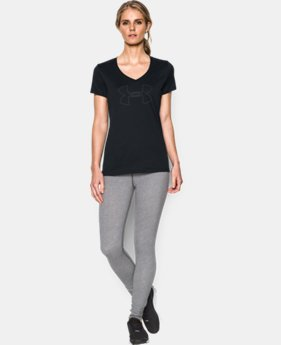 Women's UA Tech™ Branded V-Neck  1 Color $27.99