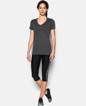 Women's UA Tech™ Branded V-Neck LIMITED TIME: FREE SHIPPING  $27.99