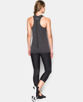 Women's UA Tech™ Branded Tank LIMITED TIME: FREE SHIPPING  $27.99