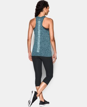 Best Seller Women's UA Tech™ Twist Branded Tank  1 Color $27.99