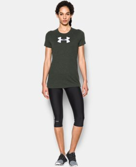 Women's UA Favorite Branded Short Sleeve  1 Color $24.99