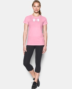 Women's UA Favorite Branded Short Sleeve LIMITED TIME: FREE SHIPPING 3 Colors $29.99