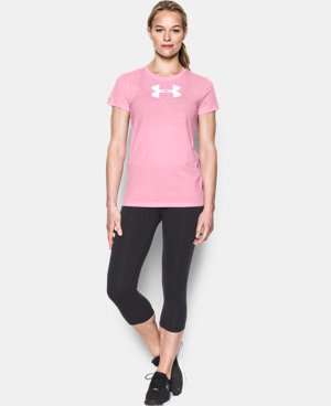 Women's UA Favorite Branded Short Sleeve  1 Color $29.99