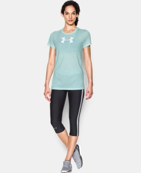 Women's UA Favorite Branded Short Sleeve  1 Color $10.49 to $14.24