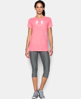 Women's UA Favorite Branded Short Sleeve LIMITED TIME: FREE U.S. SHIPPING 4 Colors $17.99 to $18.99