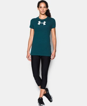 Women's UA Favorite Branded Short Sleeve LIMITED TIME: FREE U.S. SHIPPING 2 Colors $17.99 to $18.99