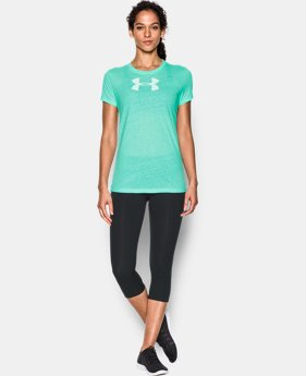 Women's UA Favorite Branded Short Sleeve LIMITED TIME: FREE U.S. SHIPPING 1 Color $18.99
