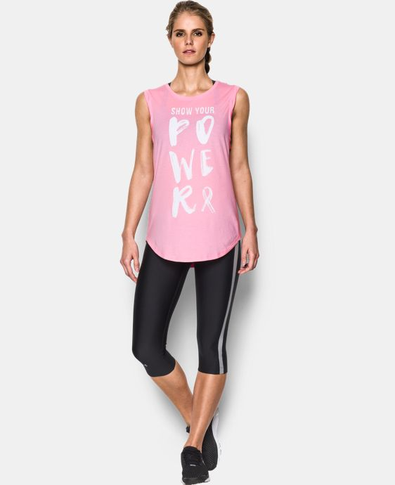 Women's UA Power In Pink® Show Your Power Tunic  1 Color $39.99