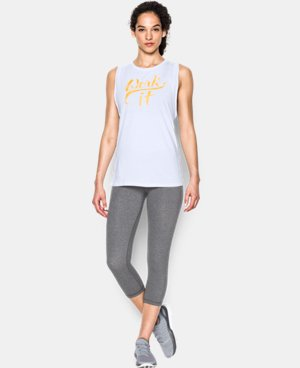 Women's UA Work it Muscle Tank  LIMITED TIME: FREE U.S. SHIPPING 1 Color $22.99